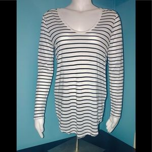 GAP • Striped Long Sleeved Top / size (S)
